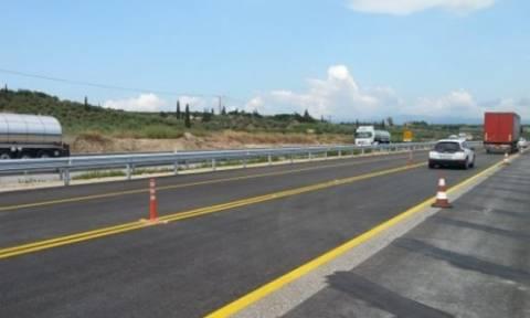 Έκτακτες κυκλοφοριακές ρυθμίσεις στη νέα εθνική οδό Κορίνθου - Πατρών