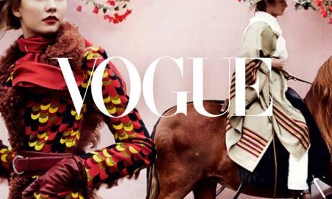 Η βρετανική Vogue γιορτάζει τα 100 της χρόνια με έκθεση – υπερπαραγωγή! (photos)