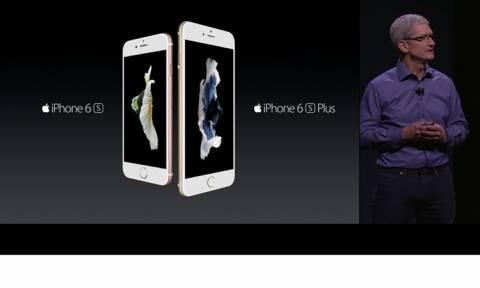 H Apple ανακοίνωσε τα νέα iPhone και το iPad Pro με οθόνη 12,9 ιντσών (photos+videos)