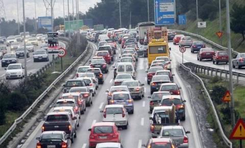 Θεσσαλονίκη: Μποτιλιάρισμα χιλιομέτρων στην Περιφερειακή οδό