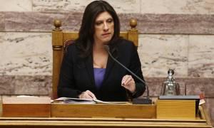 Κωνσταντοπούλου: Ο ΣΥΡΙΖΑ διαλύθηκε μετά από συνεννόηση του Τσίπρα με τους δανειστές