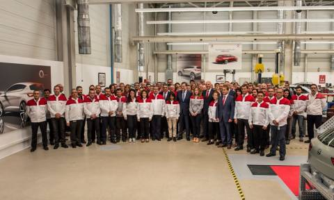 SEAT: O Rajoy επισκέπτεται το Martorell (photos)