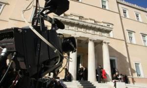 Ενταση στο κτίριο του Καναλιού της Βουλής