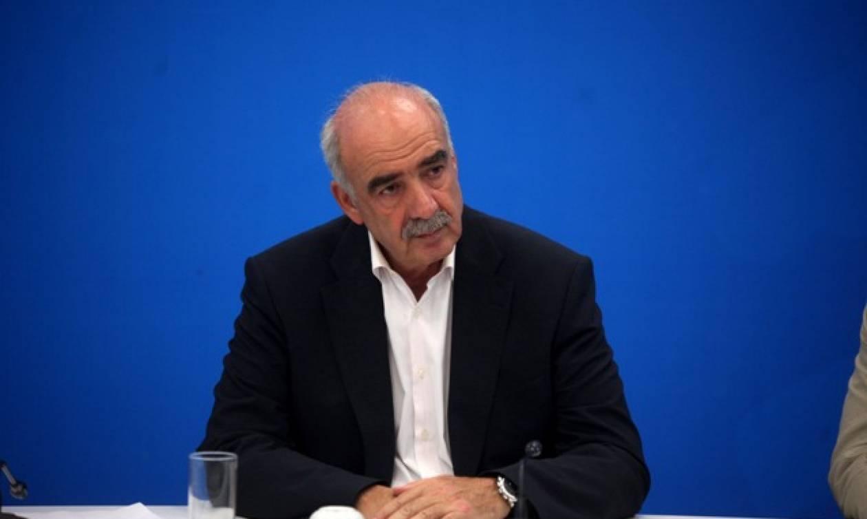 Μεϊμαράκης: Πρότεινε κυβέρνηση μεγάλου συνασπισμού ΝΔ - ΣΥΡΙΖΑ