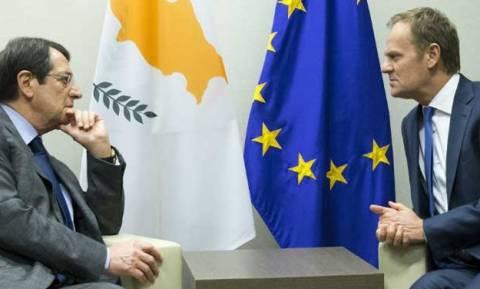 Με τον Νίκο Αναστασιάδη συναντάται ο Ντόναλντ Τουσκ-Στην ατζέντα το Κυπριακό