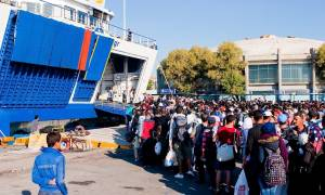 Μυτιλήνη: Άδειασε το νησί από πρόσφυγες και μετανάστες