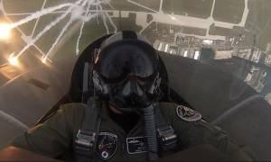 Εκπαίδευση Πολωνικής Ομάδας Αεροπορικών Επιδείξεων F-16 από την ΠΑ (pics)