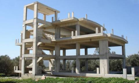 Boυτιά 15,1% της ιδιωτικής οικοδομικής δραστηριότητας