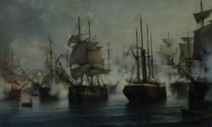 Ο Φιλέλληνας Φραγκίσκος Άστιγξ και η ναυμαχία της Αγκάλης