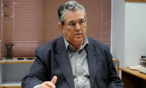 Εκλογές 2015: Με τη διοίκηση της ΔΕΘ - Helexpo συναντήθηκε ο Δημήτρης Κουτσούμπας