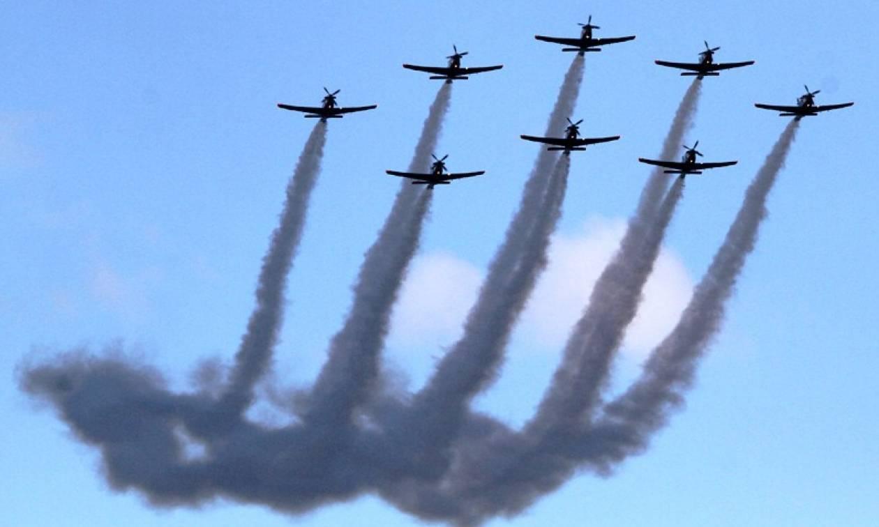 Υπερθέαμα στον αέρα από την Athens Flying Week για τέταρτη συνεχή χρονιά (photos)