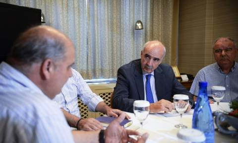 Με τους μεταλλωρύχους της Χαλκιδικής συναντήθηκε ο Μεϊμαράκης (vid)