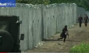 Ουγγαρία: Συγκλονιστικό βίντεο από τις τραγικές στιγμές των προσφύγων