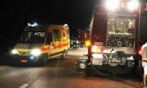 Θεσσαλονίκη: Θανατηφόρο τροχαίο στην περιφερειακή οδό