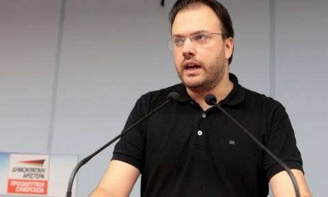 Θεοχαρόπουλος: Τρίτη δύναμη στις εκλογές η Δημοκρατική Συμπαράταξη