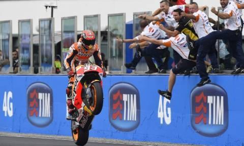 MotoGP Grand Prix Ιταλία: Ο Marquez κερδίζει μέσα στο χάος του Misano