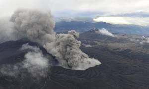 Έκρηξη ηφαιστείου στην Ιαπωνία (video)