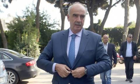 Μεϊμαράκης: Ζητώ εντολή για σχηματισμό κυβέρνησης εθνικής συνεργασίας