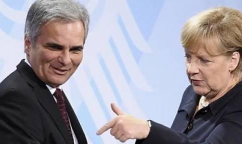Συνάντηση Μέρκελ - Φάιμαν την Τρίτη για το προσφυγικό