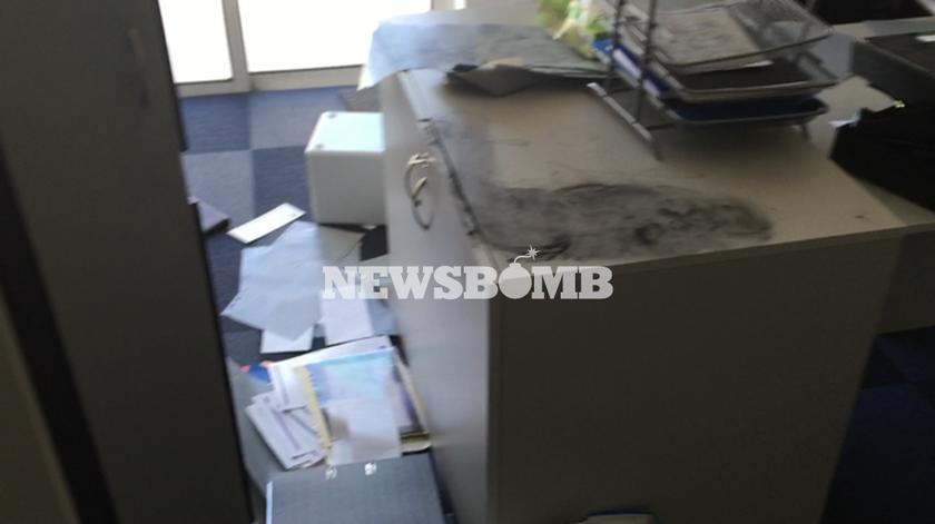 Εισβολή αντεξουσιαστών στα γραφεία του ΤΑΙΠΕΔ
