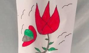 Τα προσφυγόπουλα στη Γευγελή ζωγραφίζουν τη ζωή που τους έκλεψαν