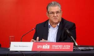 Κουτσούμπας: Δεξιά και «Μεταρρυθμιστική Αριστερά» στον καπιταλιστικό δρόμο ανάπτυξης
