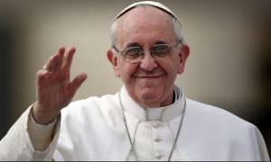 Πάπας Φραγκίσκος: Η προσφυγική κρίση είναι «η κορυφή του παγόβουνου»