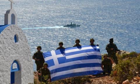 Επίσκεψη του υπουργού Εθνικής Άμυνας σε φυλάκια ακριτικών νησιών