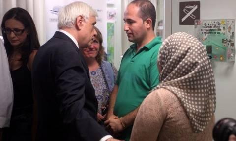 Παυλόπουλος: Επίσκεψη στο βρέφος από το Κομπάνι που υπεβλήθη σε εγχείρηση ανοιχτής καρδιάς