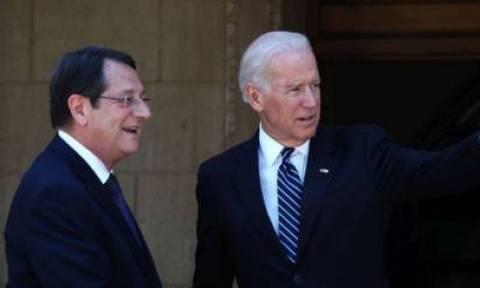 Συνάντηση Αναστασιάδη-Μπάιντεν στις 29 Σεπτεμβρίου
