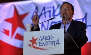 Εκλογές 2015: Λαφαζάνης - Μην ακούτε τις δημοσκοπήσεις, θα έχουμε υψηλά ποσοστά (video & pics)