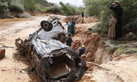 ΗΠΑ: Δεκαπέντε νεκροί από πλημμύρες στη Γιούτα