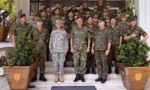 Εκπαίδευση στη Σχολή Μηχανικών του στρατού από Γερμανούς (pics)