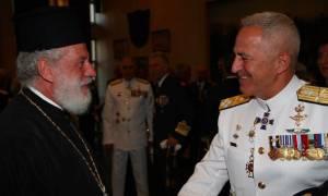 Ο Μητροπολίτης Σύρου στην τελετή παράδοσης - παραλαβής του νέου Αρχηγού ΓΕΕΘΑ (pics)