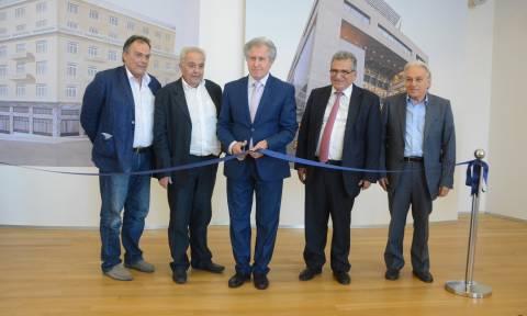 Εγκαινιάστηκε το νέο κτήριο διοίκησης του Τ.Σ.Μ.Ε.Δ.Ε. / Ε.Τ.Α.Α