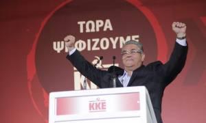 Εκλογές 2015 – Κουτσούμπας: Η ψήφος στο ΚΚΕ είναι ένα λιθαράκι στο δρόμο της ανατροπής