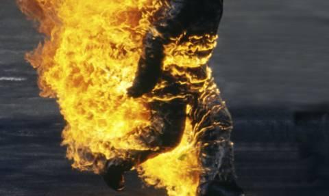 Ρόδος: Λούστηκε με βενζίνη και αυτοπυρπολήθηκε μέσα στο δάσος
