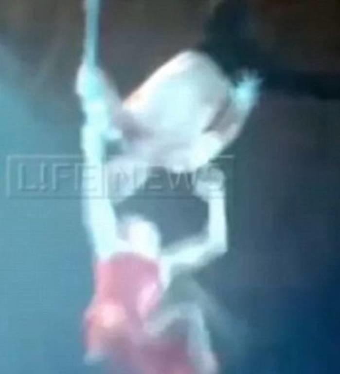 Τρομακτικό ατύχημα σε τσίρκο: Ακροβάτισσα έπεσε στο κενό από τα 10 μέτρα! (video)