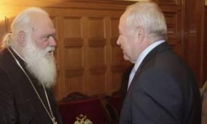 Οι Πρέσβεις της Ουκρανίας και της Αυστρίας στον Αρχιεπίσκοπο Ιερώνυμο