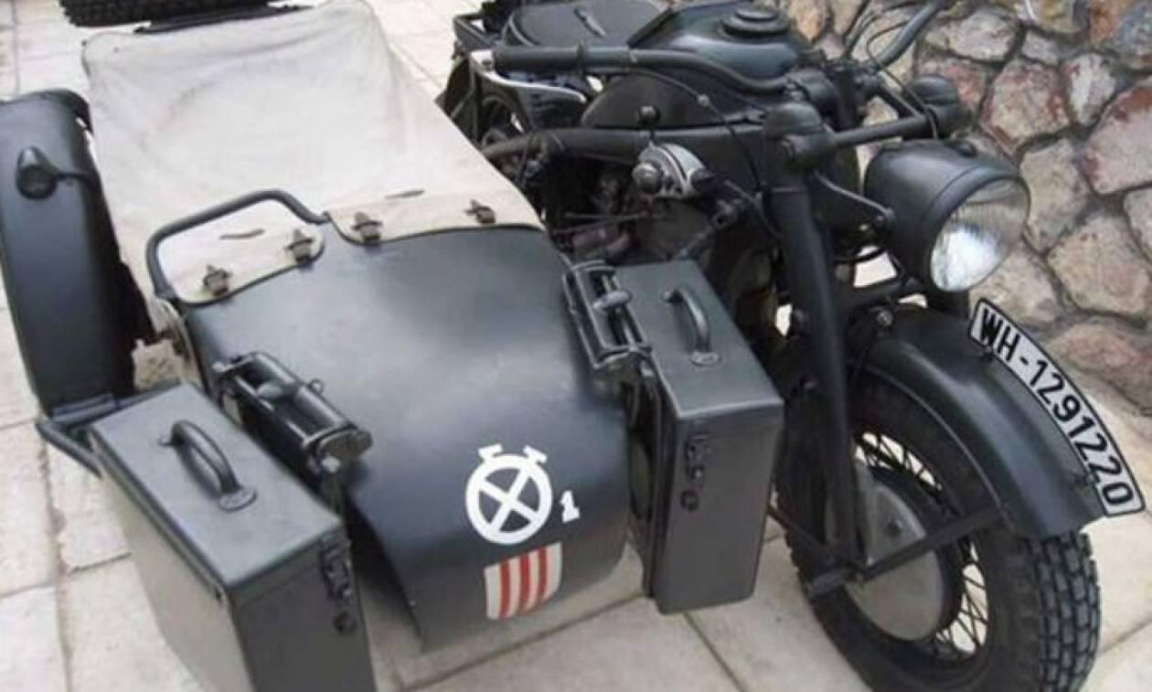 Κλασσική Μοτοσυκλέτα: Ο Brad Pitt αγόρασε μία μοτοσυκλέτα από τη μάχη της Κρήτης