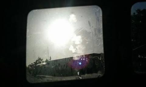 Κοιμήθηκε στο αυτοκίνητό του και όταν ξύπνησε αντίκρισε κάτι πολύ τρομακτικό (photo)