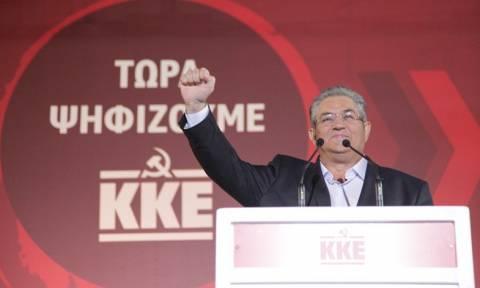 Κουτσούμπας: ΣΥΡΙΖΑ και ΝΔ παίζουν στο ίδιο γήπεδο
