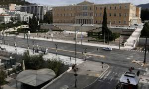 Εκλογές 2015: Κλειστή η Φιλελλήνων εν όψει της ομιλίας του Αλέξη Τσίπρα