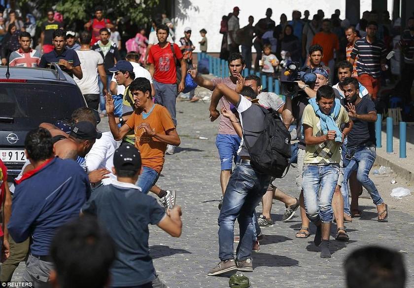 Σκηνές χάους στην Κροατία: Άγριες συγκρούσεις μεταναστών για μια θέση στο τρένο της ελπίδας (photos)