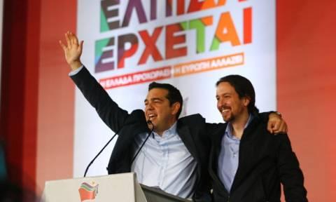 Ιγκλέσιας: ΣΥΡΙΖΑ και Podemos μπορούν να φέρουν την αλλαγή στην Ευρώπη