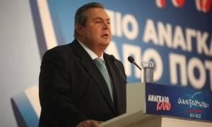 Εκλογές 2015 - Καμμένος: Ο λαός να βάλει στο χρονοντούλαπο τους πολιτικούς της διαφθοράς