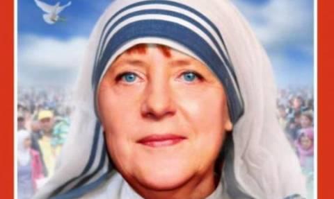 Η «Mutter Angela» στο εξώφυλλο του Spiegel