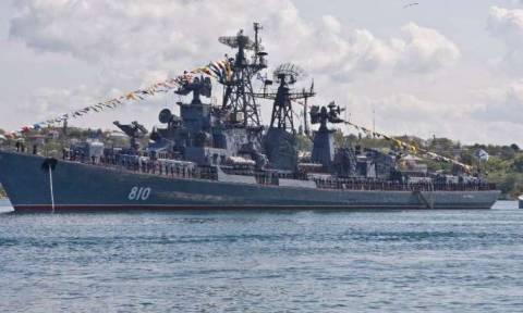 Ο ρωσικός στόλος της Μαύρης Θάλασσας θα προσκυνήσει τα λείψανα του Αγ. Ανδρέα