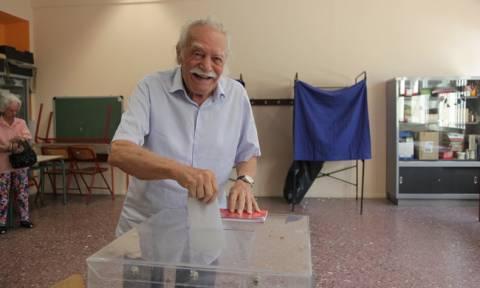 Αποτελέσματα εκλογών 2015 – Γλέζος: Καθοριστικές οι εκλογές για την πορεία του τόπου