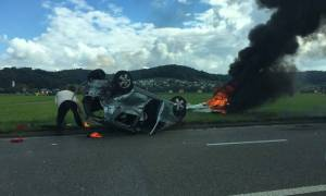 Ελβετία: Συντριβή μικρού αεροσκάφους – Δύο τραυματίες